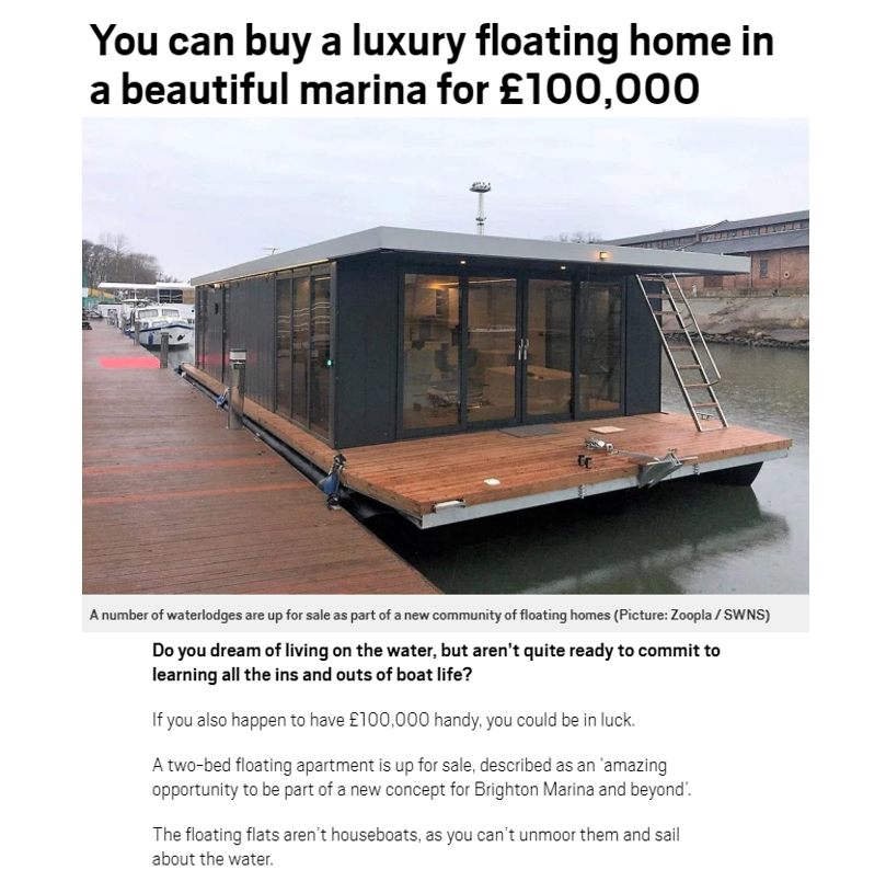 Metro showcases the benefits of living on the water – 5th January 2021